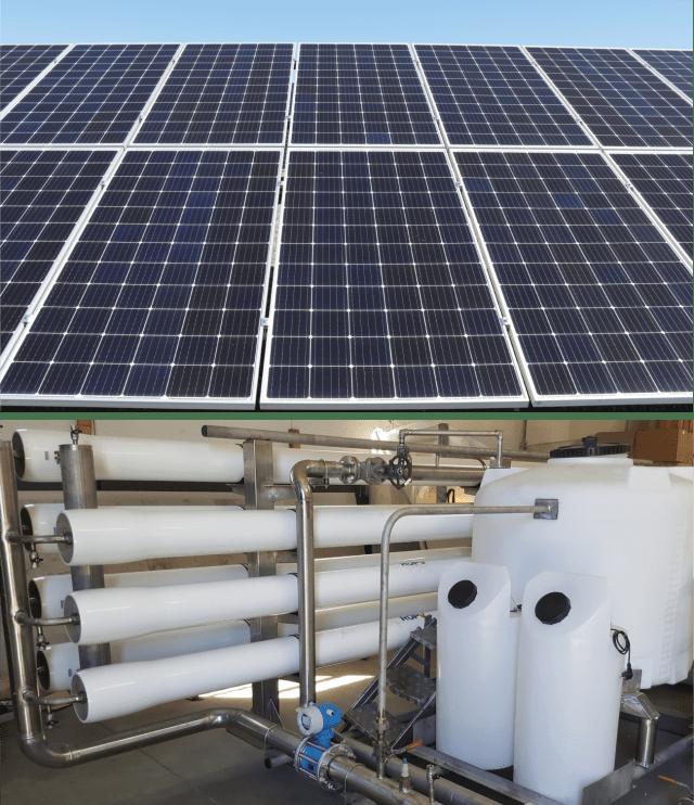 autelec maroc osmose inverse solaire photovoltaique pv solar osmosis reverse desalination