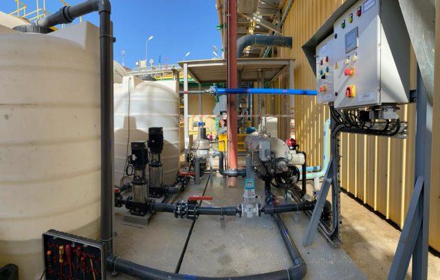 Station de Filtration Autonettoyante - OCP - Traitement d'eau Autelec